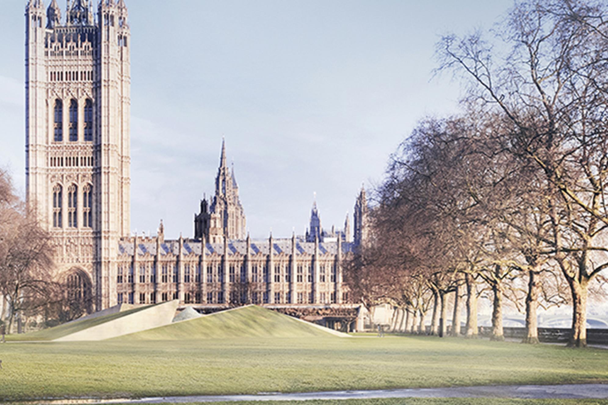 Rendering: View from the Palace of Westminster