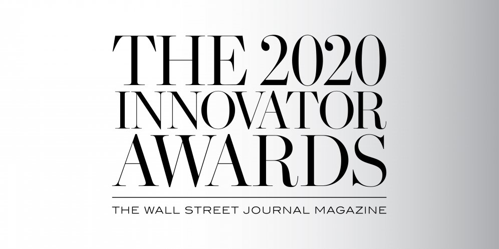 logo of the 2020 WSJ Magazine Innovator Awards.