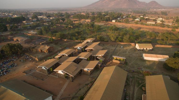 Photo of Maternity Waiting Village, Photo by Iwan Baan, Aerial of the Maternity Waiting Village