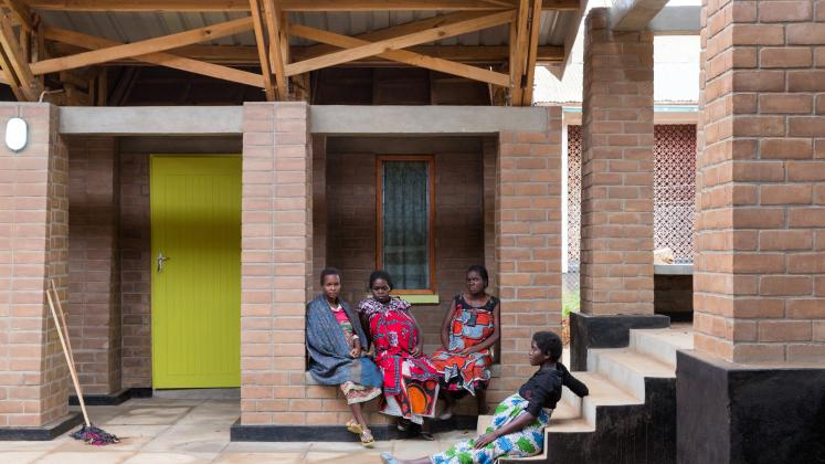 Photo of Maternity Waiting Village, Photo by Iwan Baan, Maternity Waiting Village