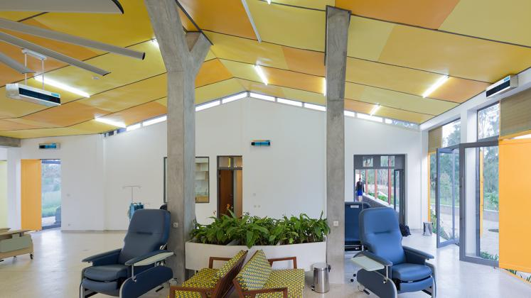 Photo of Butaro Ambulatory Cancer Center, Photo by Iwan Baan, Interior of the Patient Ward