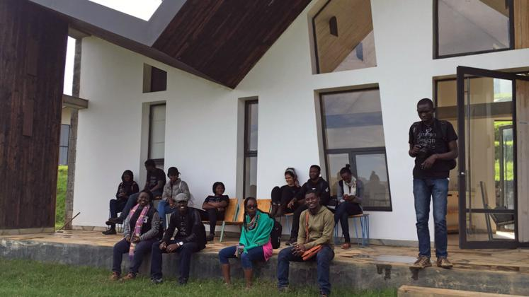Photo: ADC Fellows visit Butaro Doctors' Sharehousing