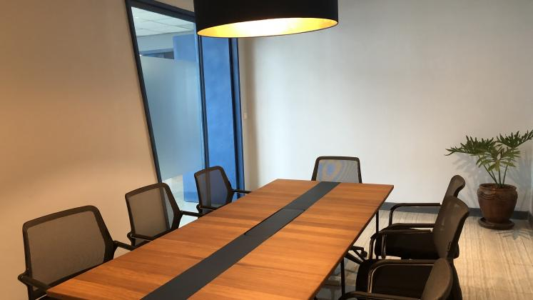 Conference room in ALU Kigali Heights