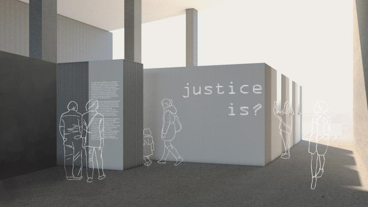 A render of Writing on the Wall