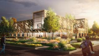 Rendering: Exterior Colorado College Innovation Institute