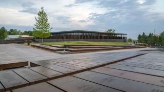Photo: Exterior View, The National Memorial for Peace and Justice